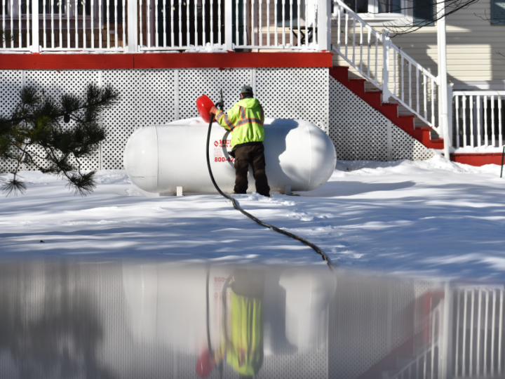 Propane Safety and Preparing for Winter Snowfall