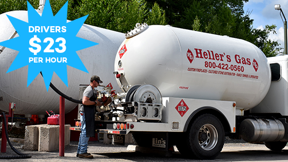 heller's gas delivery driver